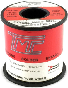 "1 lb. Solder Wire, 60/40, 1.5mm/0.061""  22-6040-61TMC"