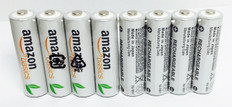 AMAZON AA Rechargeable Batteries (8pcs)  BATAA8NM1900