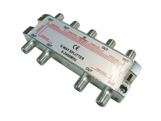 8-Way Splitter 2500MHz  IECSPLT8