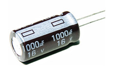 Electrolytic Capacitor (1000uFx16V)  CAP1000X16