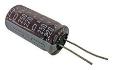 Electrolytic Capacitor (220uFx250V)  CAP220x250