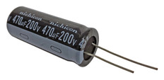 Electrolytic Capacitor (470uFx200V)  CAP470x200
