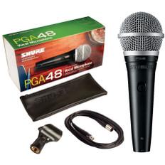 SHURE Cardioid Dynamic Microphone  PGA48-XLR