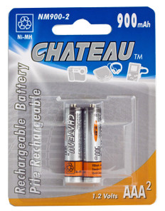 AAA Rechargeable Ni-Mh Batteries (2pcs)  NM900-2