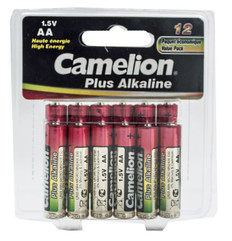 AA Alkaline Batteries (12pcs)  AA-12ALK
