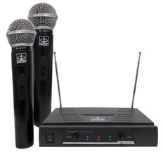Dual Wireless VHF Microphone System  MC-2007W