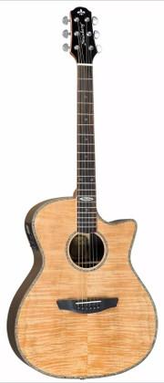 Medium-Jumbo Body Acoustic Guitar w/ Preamp & Tuner  S1-MJC