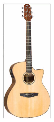 Medium-Jumbo Body Acoustic Guitar w/ Preamp & Tuner  S3-MJC