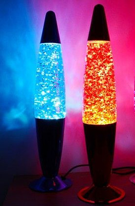 Sparkle Moving Effect Lamp, Blue   852921