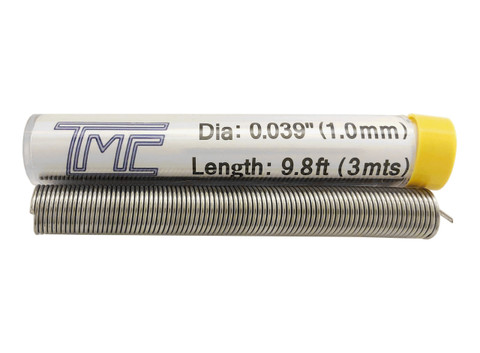 "3mts Solder Wire, 60/40, 1mm/0.040""  22-6040-40TMC20"