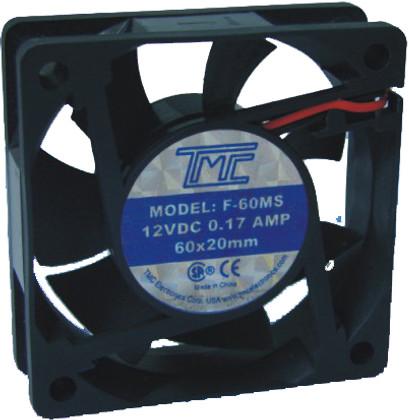 """2.36"""" Slim Fan 12VDC  F60MS"""