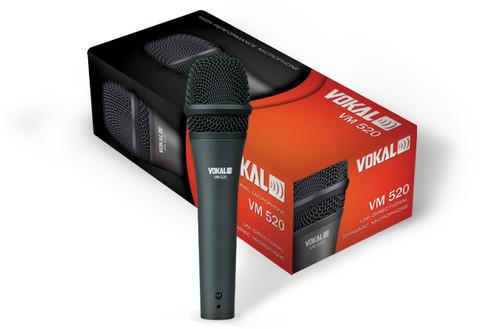 Dynamic Vocal Cardioid Microphone  VM-520