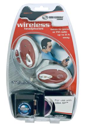Wireless Headphones for Nintendo Game Boy Advance SP  GGE417F