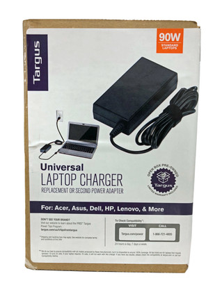 TARGUS Universal Laptop Power Supply, 90W  APA790USO