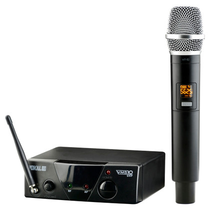 Wireless 10-Channel UHF Microphone System  VMS-10