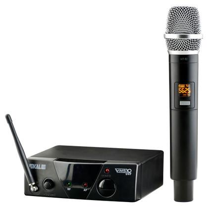 Wireless 10-Channel UHF Microphone System  VSM-10