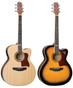 Jumbo Body Acoustic Guitar w/ Preamp & Tuner  SJ-20C