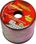 18AWG 2-cond Speaker Wire, 100% Copper, Clear Red/Black  SP18GA