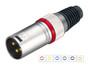 XLR 3-pin Gold Plug  PL-130XTR