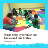 Music helps synchronise our bodies and our brains.