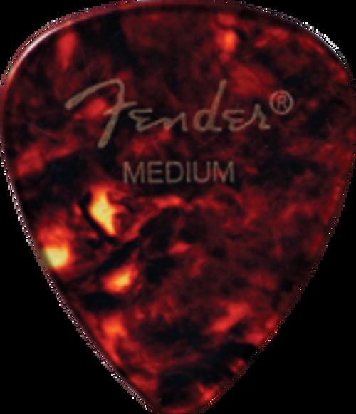 Fender® Classic Celluloid Picks Medium