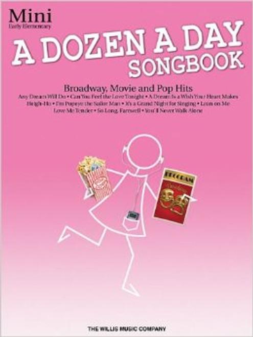 A Dozen a Day Songbook Mini - Broadway, Movie & Pop Hits