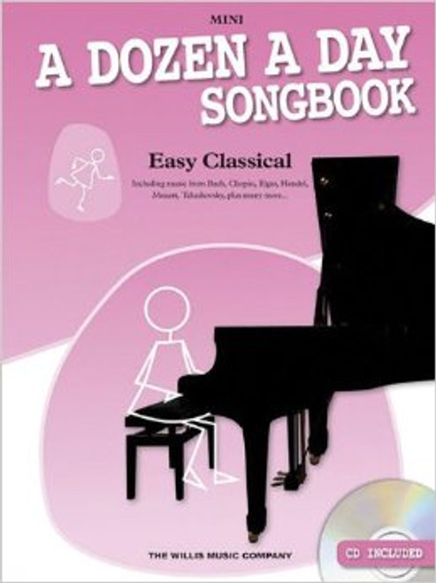 A Dozen a Day Songbook Mini Easy Classical w CD