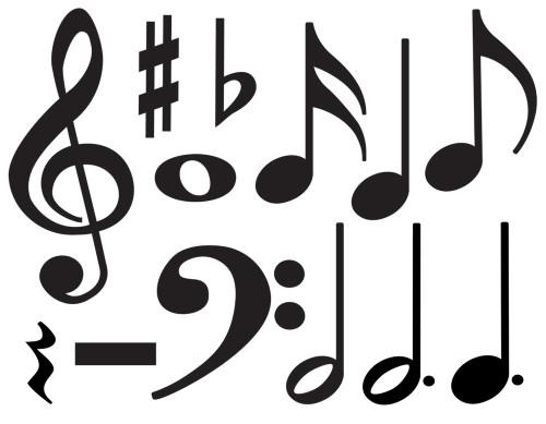 Music Symbols Accent Pack