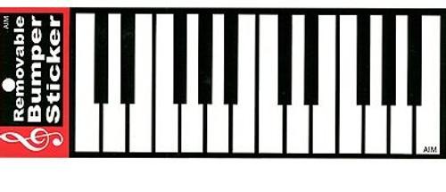 Bumper Sticker Keyboard