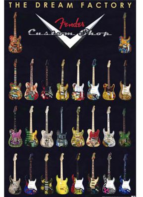 Poster Fender® Dream Factory 24x36