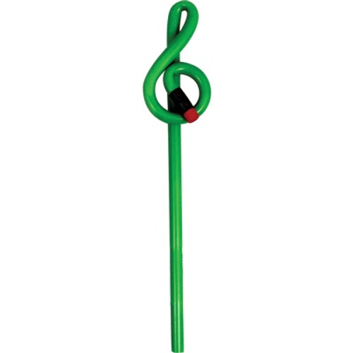 Bent Pencil G-clef Green Colour Changing