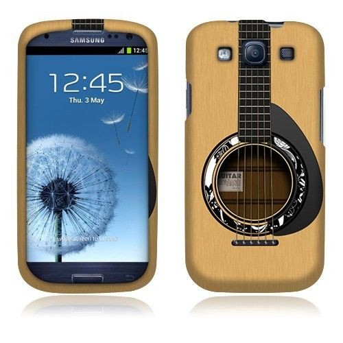 Slim Hard Cover Case for Samsung Galaxy S3 i930... Guitar