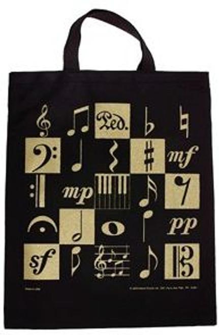 Bag -Music Motif Tote XL