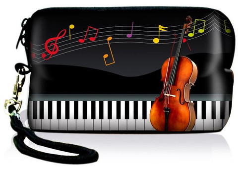 Music Note Violin/Keyboard Pouch