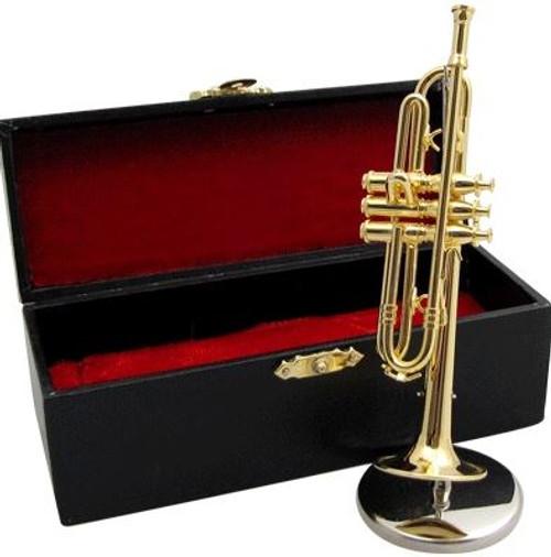 Miniature Trumpet Replica w/Case