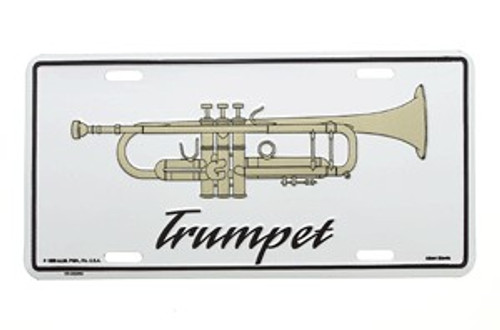 License Plate Trumpet