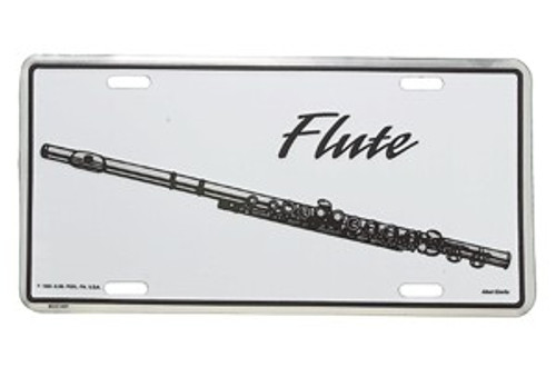 License Plate Flute