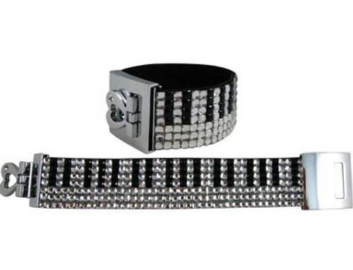 Bracelet Keyboard Crystals 7 Rows