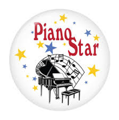 Button Piano Star