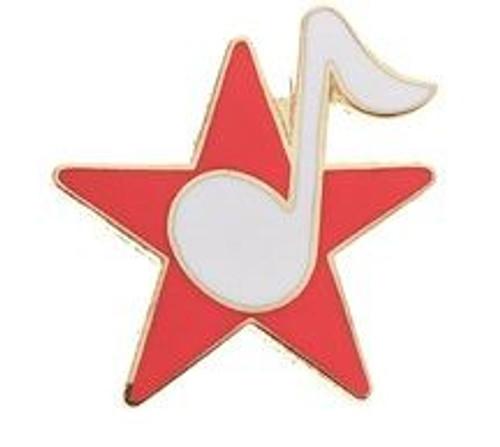 Mini Pin Star w/Note