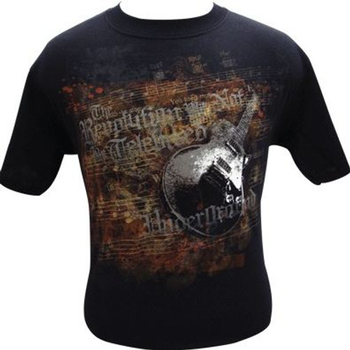 T-Shirt Guitar Revolution -Large