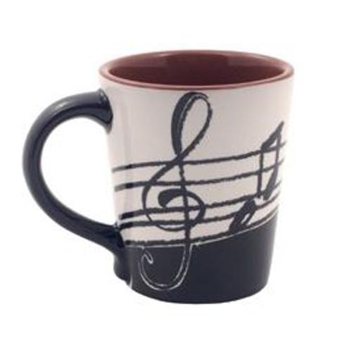 Mug Music Note Latte