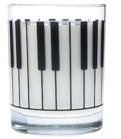 Glass Tumbler Large Keyboard