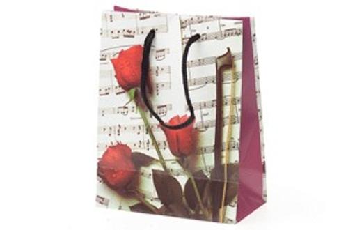 "Sheet Music Gift Bag - Extra Large 13"" x 4"" x 18."""