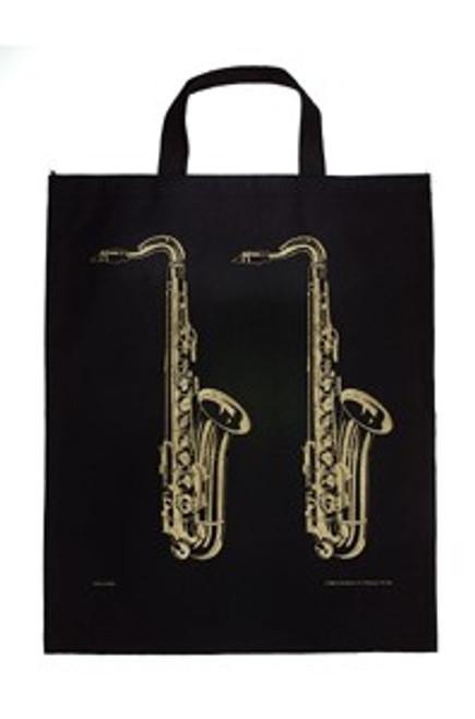 Tote Bag Saxophone Gold XL
