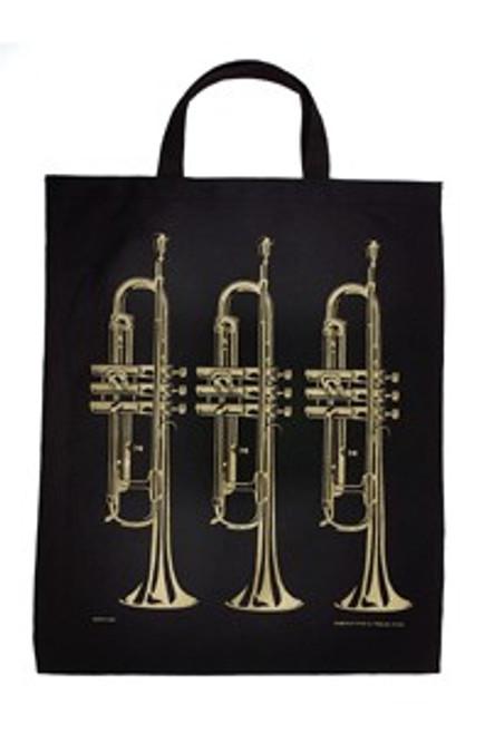 Tote Bag Trumpet Gold XL