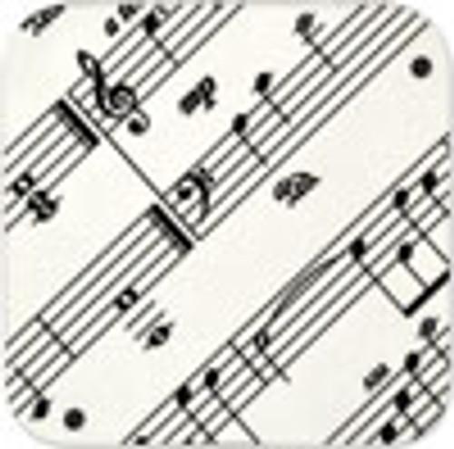 Coaster Sheetmusic