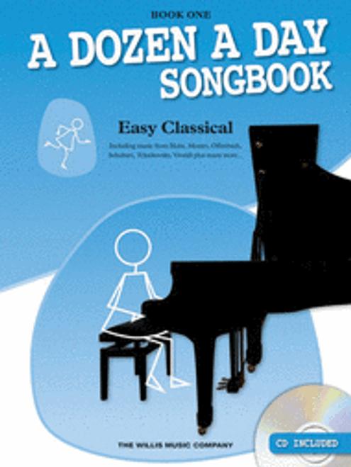 A Dozen a Day Song Book 1 Easy Classical w CD