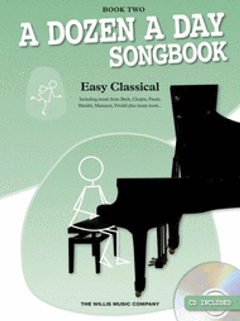 A Dozen a Day Song Book 2 Easy Classical w CD