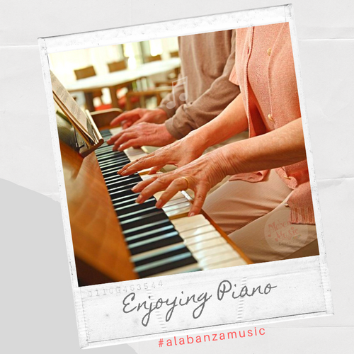 Adults Enjoying Piano Together - Zaquens
